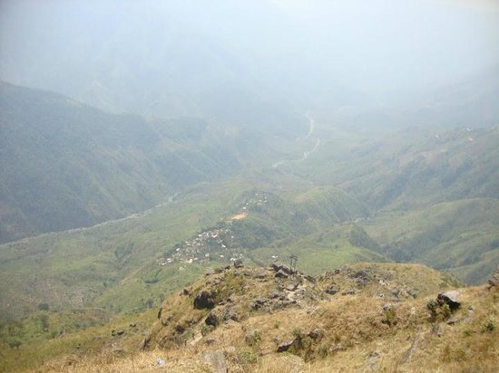 Laitlum Canyons: a view of the valley