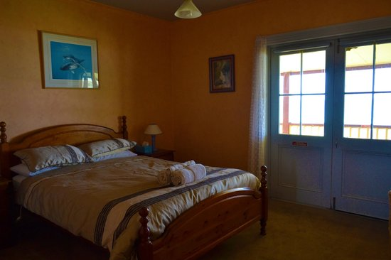 Cape Bridgewater Sea View Lodge: Bed room in the B & B
