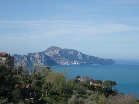 Residence Gocce di Capri: vista desde la habitacion
