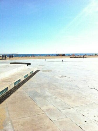 Alagoamar Aparthotel : sea front