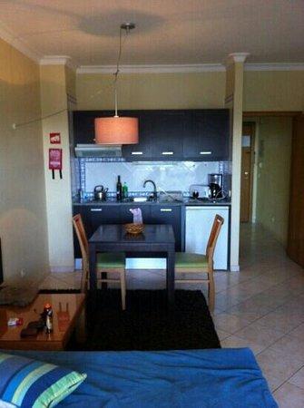 Alagoamar Aparthotel : kitchenette