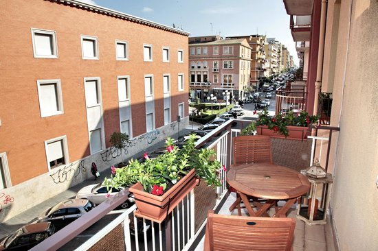 Milu B&B: balcone con vista
