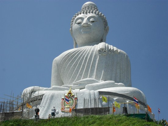 Palmview Resort Patong Beach: Big Buddha von Phuket