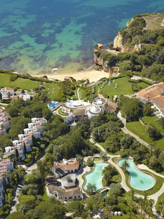 Vila Vita Parc Resort & Spa : Aerial view of hotel grounds (partial)