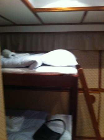 M/S Monika: bunk beds