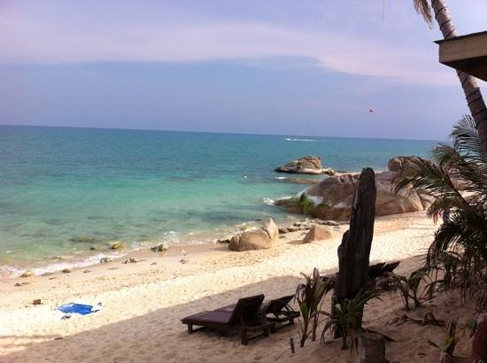 บิลล์ รีสอร์ท: la plage de l'hôtel Bill resort