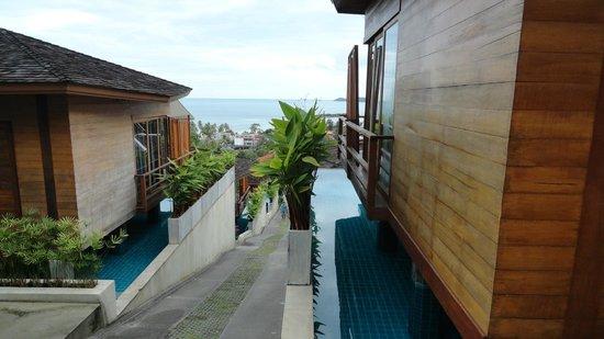 KC Resort & Over Water Villas: the room