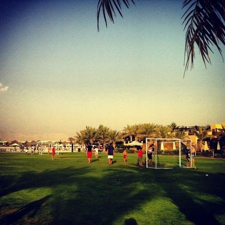 Hilton Ras Al Khaimah Resort & Spa: soccer field