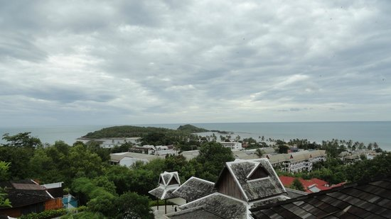 KC Resort & Over Water Villas: view from room