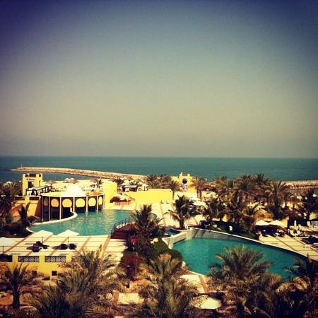 Hilton Ras Al Khaimah Resort & Spa: view from 2418 room