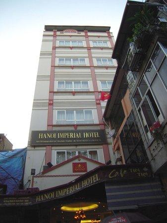 Hanoi Imperial Hotel: exterior