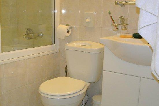 Belgrave Hotel London: bagno con vasca