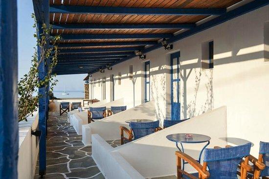 Dimitris Rooms : Sea view.