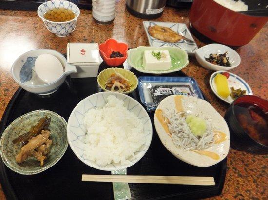 Yoshifumi: 朝食