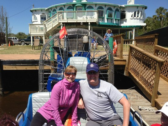 Everglades City Airboat Tours : Everglades City Original Airboat Tour - March 2013