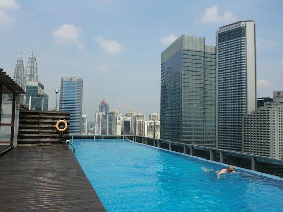 Somerset Ampang Kuala Lumpur: Pool deck