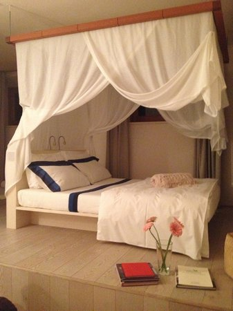 La Bandita: Canopy bed in groundfloor suite