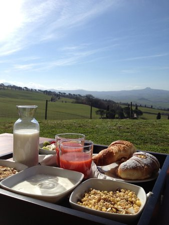 La Bandita : Breakfast on terrace