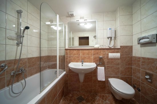 Bluesun Hotel Borak: Standard bathroom