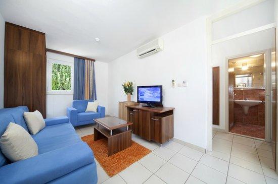 Bluesun Hotel Borak: Apartment living room