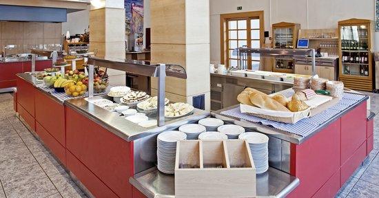 Bluesun Hotel Borak: Buffet restaurant