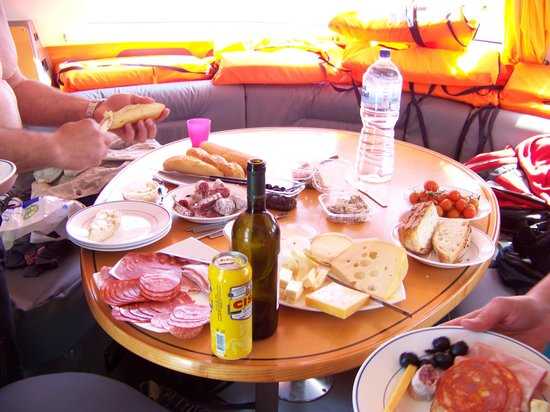 Tip Top One Day Cruise Malta: food on boat