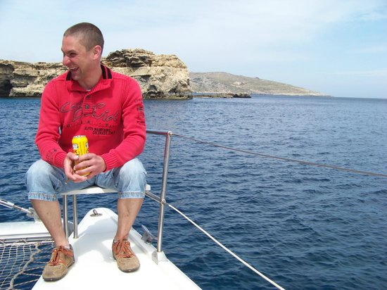 Tip Top One Day Cruise Malta: more happy people