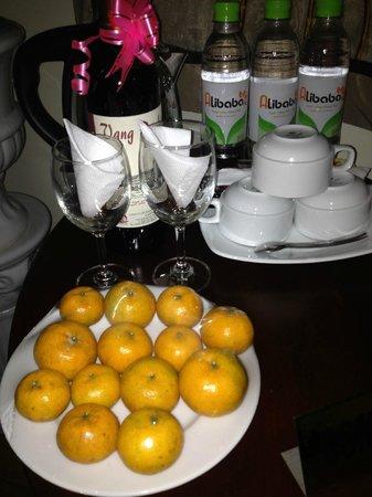 Hanoi Charming 2 Hotel: Täglich frisches Obst - gratis