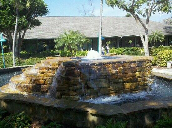 Periwinkle Way: Fountain
