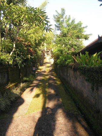 accés à l'hôtel Alam Shanti