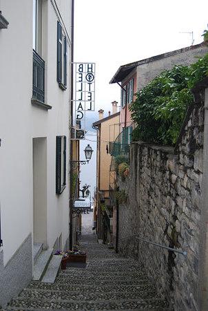 Indgang til Hotel Bellagio