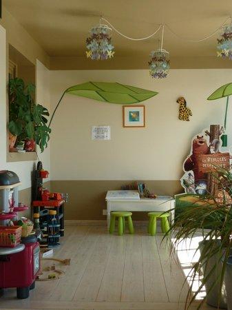 Restaurant Le Grain de Sable: Le coin enfant