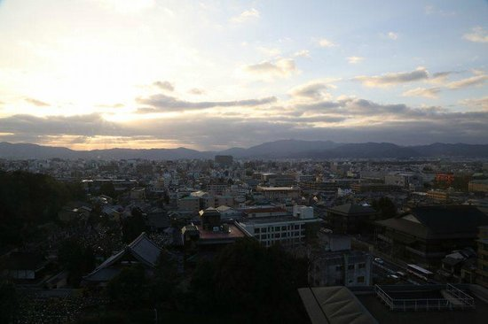 The Westin Miyako Kyoto: お部屋からの眺め