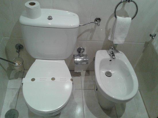 Hotel Santa Maria: banheiro