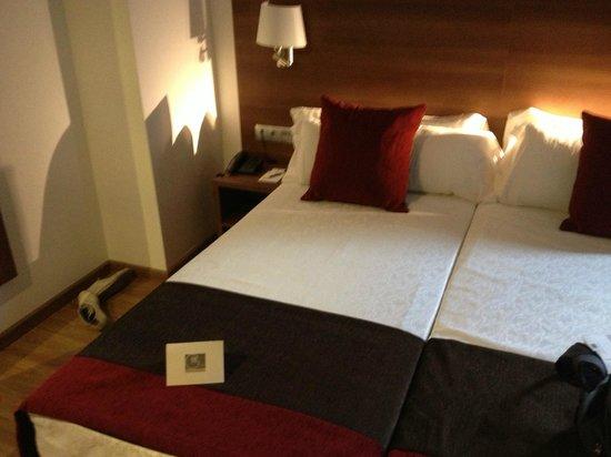 Hotel Auto Hogar: Chambre twin vu intérieur