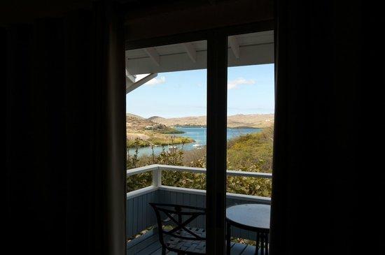 Club Seabourne: Vista dalla veranda