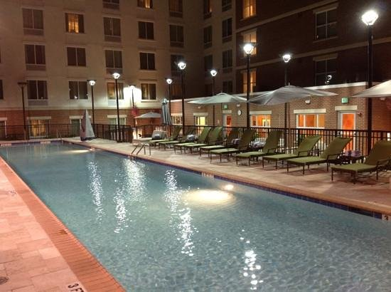 Hilton Garden Inn Atlanta Midtown: amazing lap pool