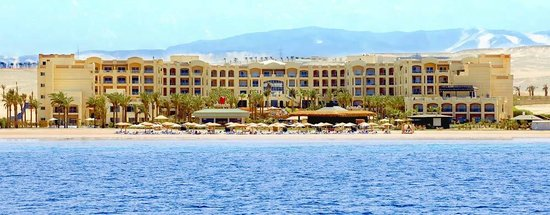 Tropitel Sahl Hasheesh: Over View from Beach