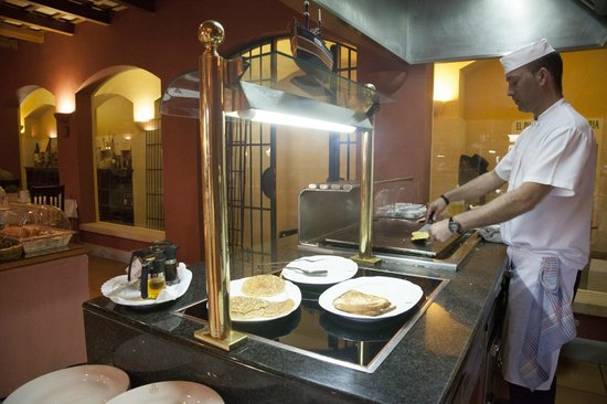 Hotel Duque de Najera: BUffet
