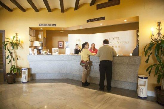 Hotel Duque de Najera: Recepción