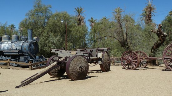 Borax Museum : Furnace creek