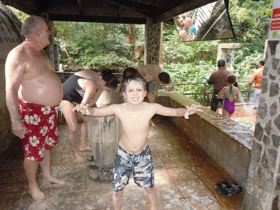 Buena Vista Lodge & Adventure: The mud application area