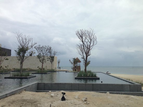 NIZUC Resort and Spa : reflection pool/beach