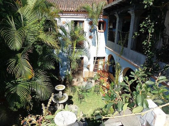 Posada San Sebastian: The lovely courtyard
