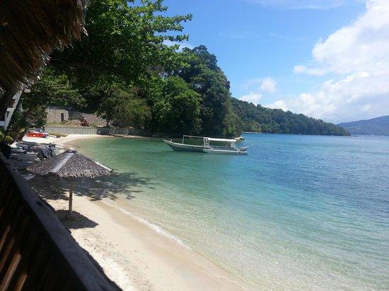 Encenada Beach Resort: شاطئ الفندق