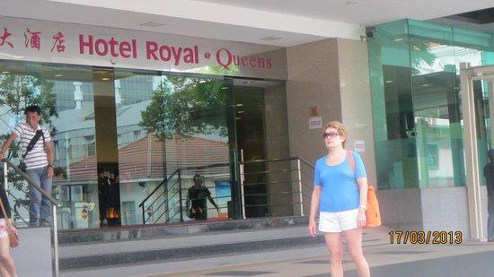 Hotel Royal at Queens: Тихий и удобный отель