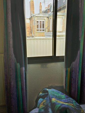 Hotel Bollaert: Aussicht geradeaus