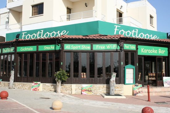 Footloose Ayia Napa Cyprus