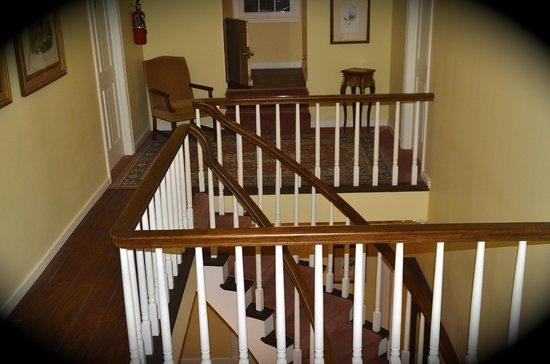 Hemingbough: Spiral staircase