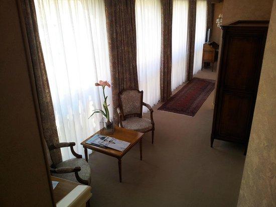 Hostellerie de la Pommeraie : chambre 201